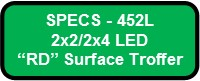 EXCELON RD SURFACE LED SPECS 452L